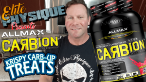 Allmax Carbion Rice Krispy Carb-up Treat